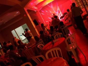 O Clube de Lavras prestigia músicos locais