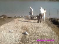 Início construção de rampa - Clube de Lavras