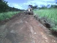 Estrada em construção - Clube de Lavras