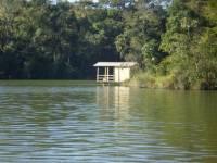 Piers para pesca concluídos - Clube de Lavras