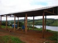 1º galpão construído - Clube de Lavras